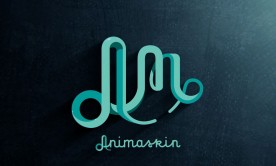 New Animaskin ident and logo design
